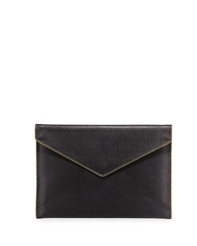 Leo Slim Envelope Clutch Bag