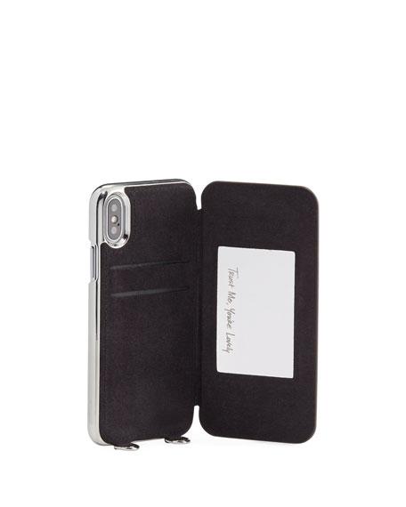 Mirrored Folio Phone Case for iPhone X, Multi