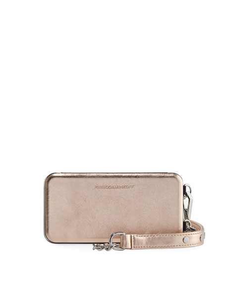 Rebecca Minkoff Mirrored Folio Phone Case for iPhone