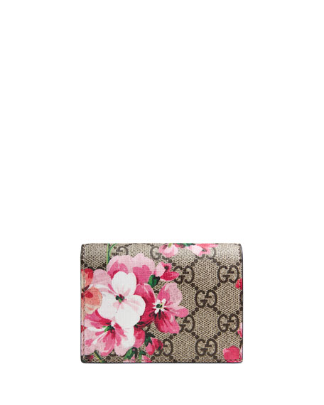GG Blooms Flap Card Case