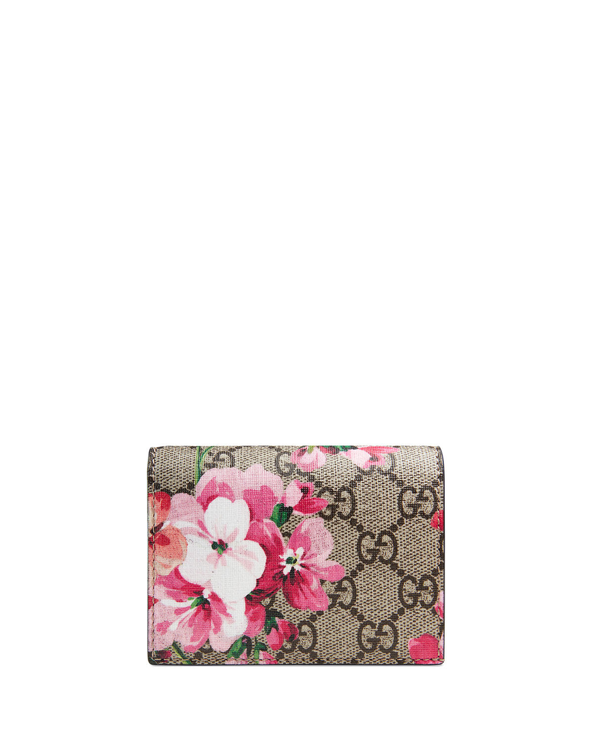 eef479f62079 Gucci GG Blooms Flap Card Case | Neiman Marcus