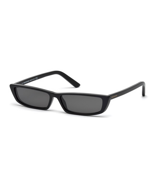 19b69c73d79df Balenciaga Runway Rectangle Sunglasses