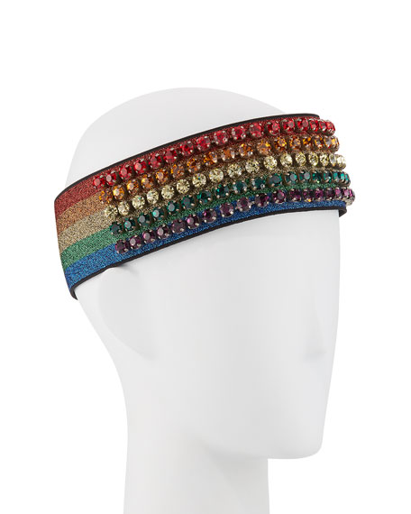 Metallic Crystal Webby Headband