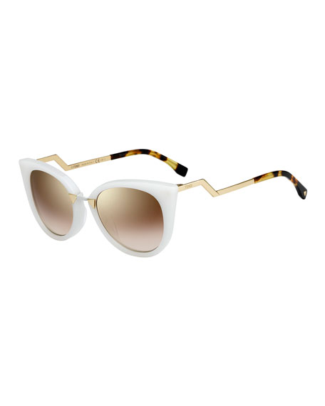 Fendi Runway Cat-Eye Sunglasses