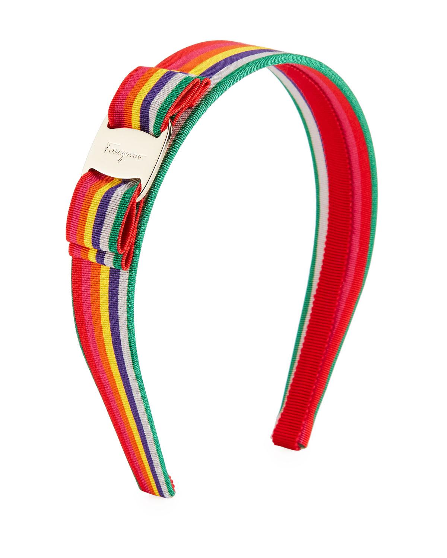 Vara grosgrain headband - Red Salvatore Ferragamo QYnwbRl