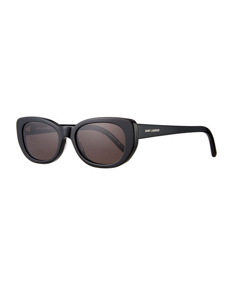 Saint Laurent SL 183 Betty 66mm Acetate Shield