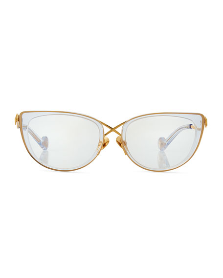 The Cross Cat-Eye Optical Frames
