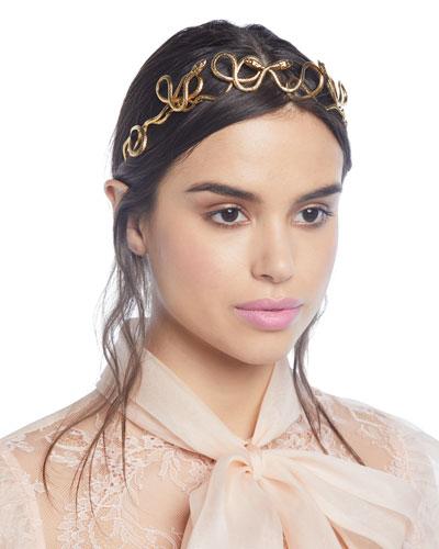 Rebekah Snake Crown Headband