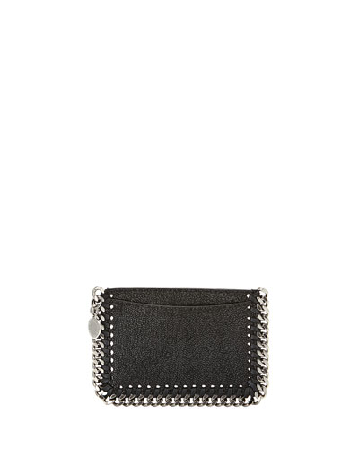 Falabella Shaggy Deer Card Holder, Black