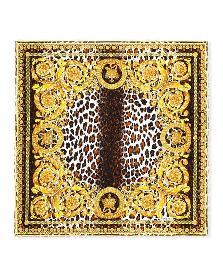 Wild Baroque Silk Scarf