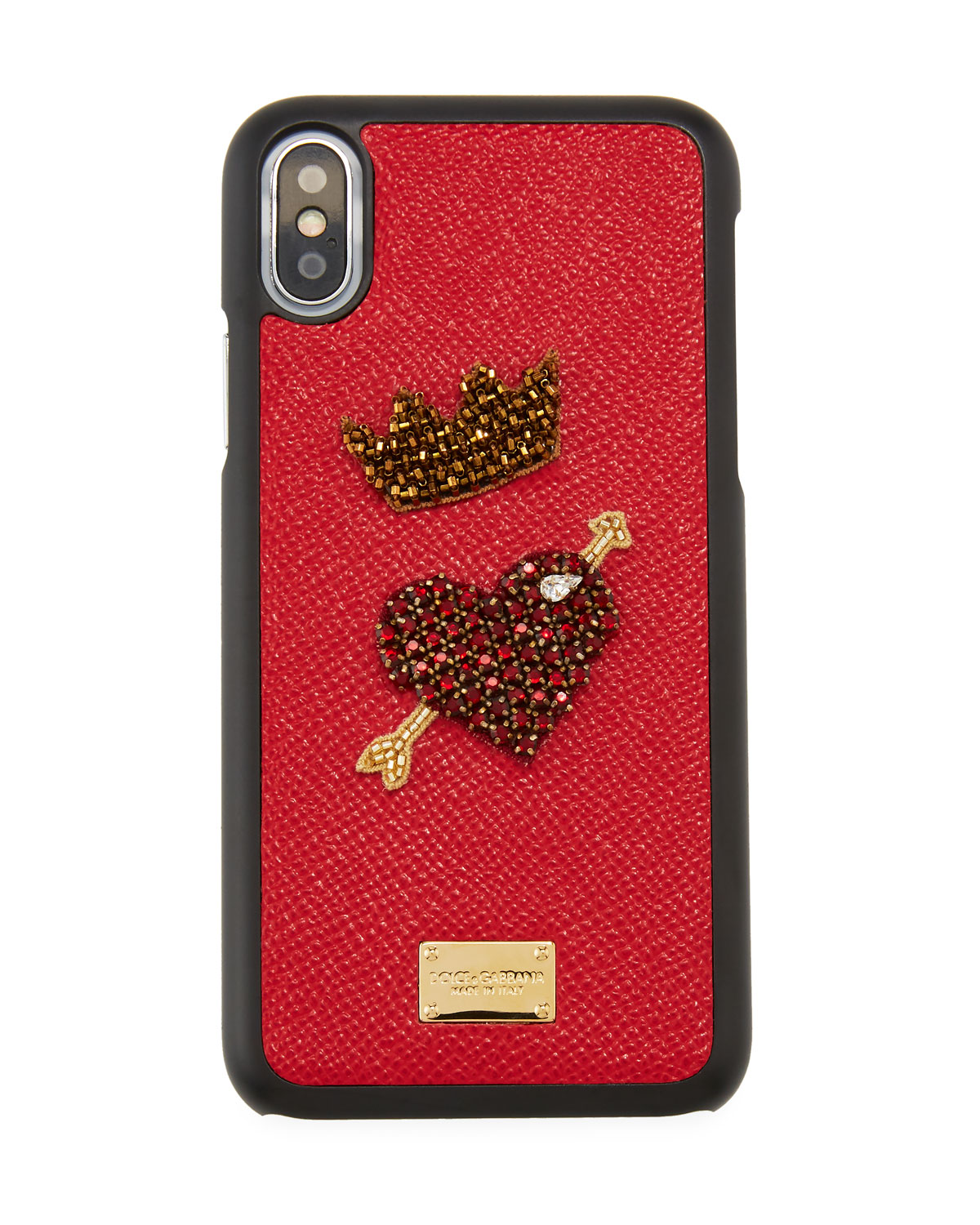 Rose-print iPhone X case Dolce & Gabbana PT9QRU