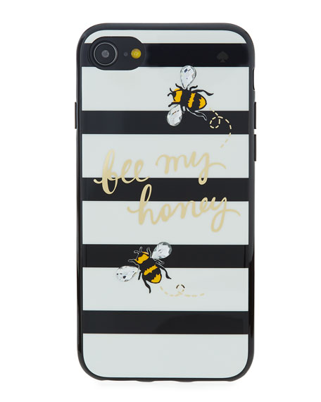 jeweled bee my honey iPhone® 7/8 phone case