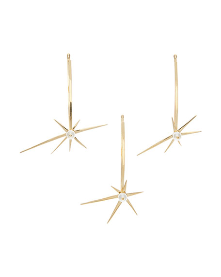 Colette Malouf Starburst Bobby Pins, Set of 3