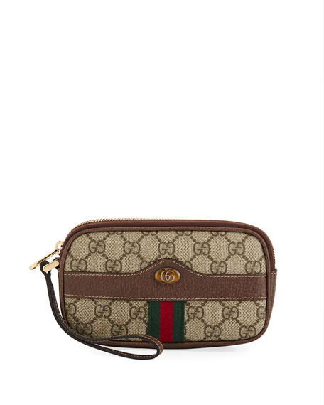 Gucci Ophidia GG Supreme Canvas Phone Case
