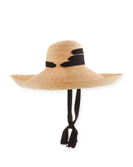 Espartina Raffia Sun Hat w/ Hat Band