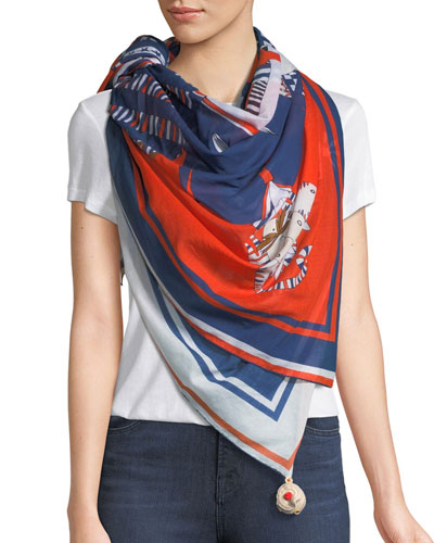 Salty Squad Cotton Scarf