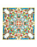 Hannah Double-Sided Square Silk Scarf