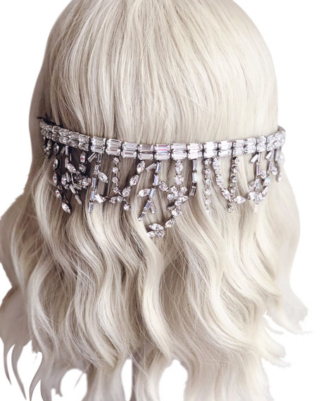 The Meadows Swarovski® Baguette Crown/Tiara