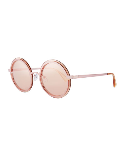 Ovation Round Metal Sunglasses