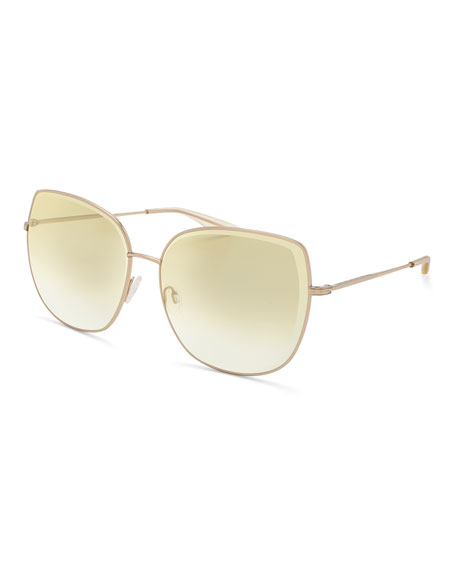 Espirutu Mirrored Butterfly Sunglasses