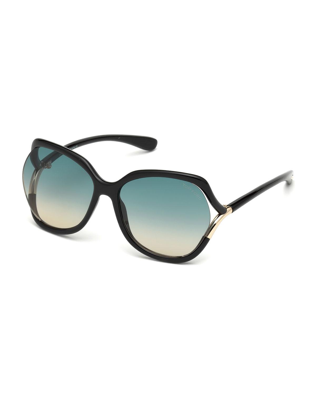 a04df09574f1f TOM FORD Open-Temple Gradient Sunglasses