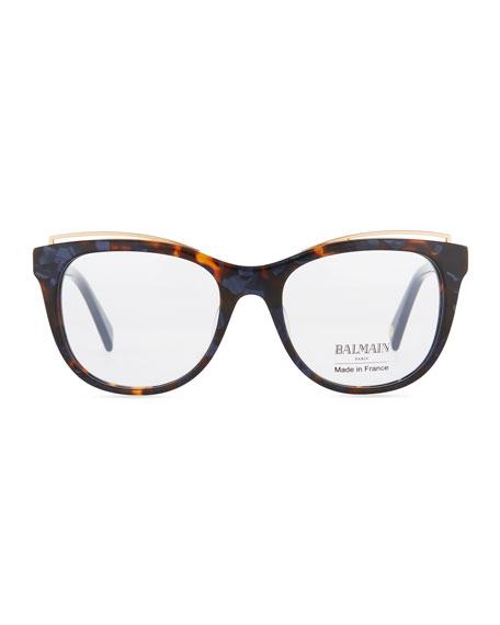 Modified Cat-Eye Acetate Optical Frames