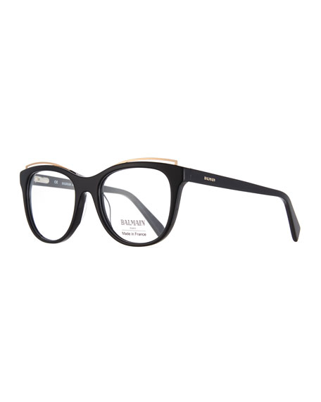 Modified Cat-Eye Acetate Optical Frames