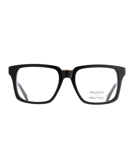 Opaque Acetate Square Optical Glasses