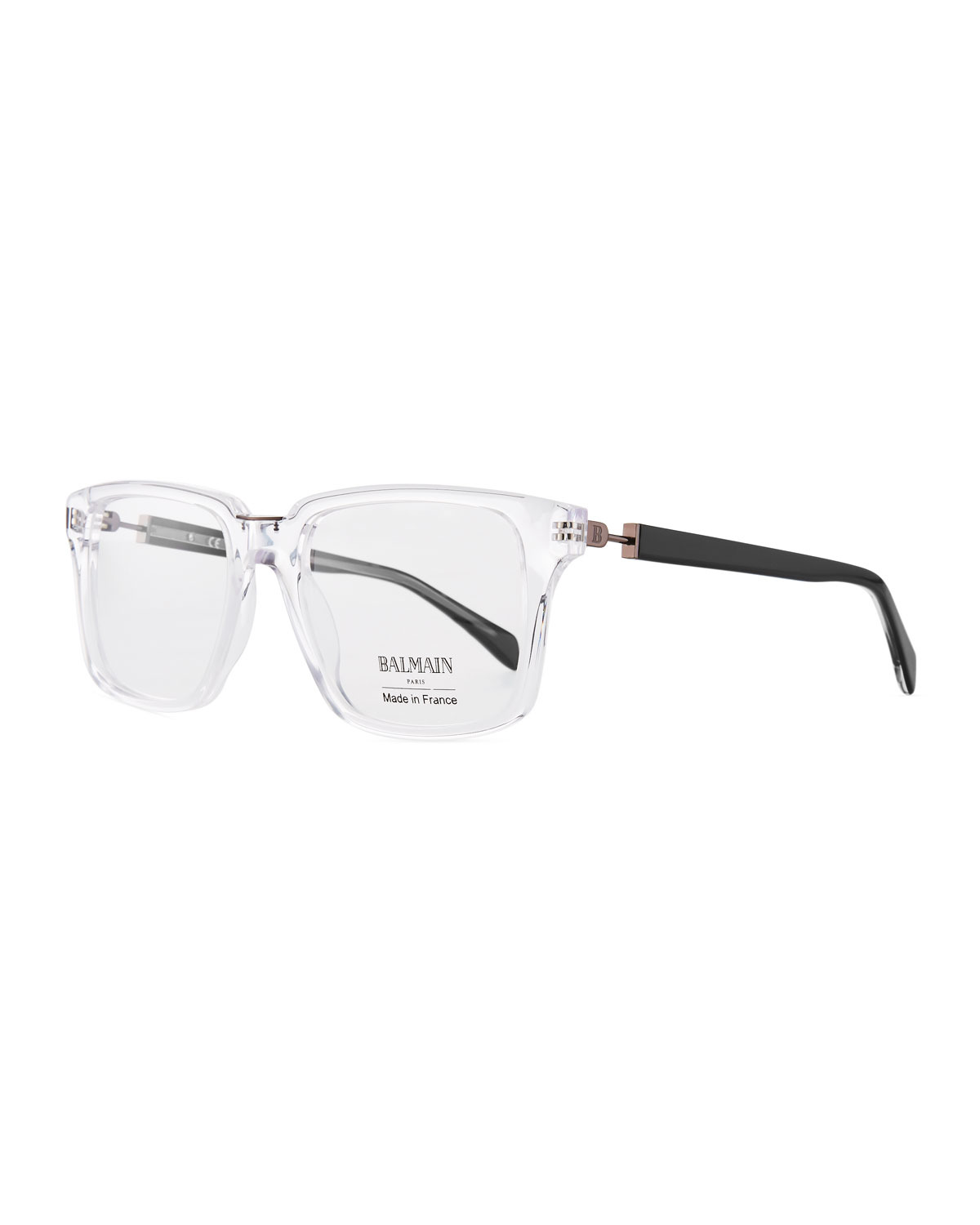 216da89144 Balmain clear acetate square optical glasses neiman marcus balmain glasses  jpg 1200x1500 Glasses balmain bl700302