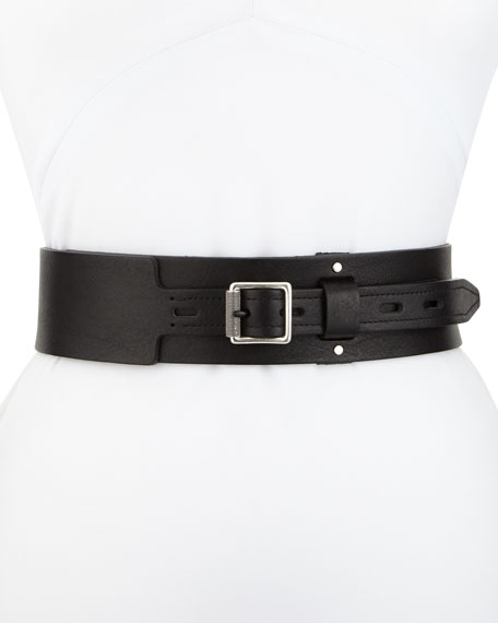 Field Leather Waist Belt