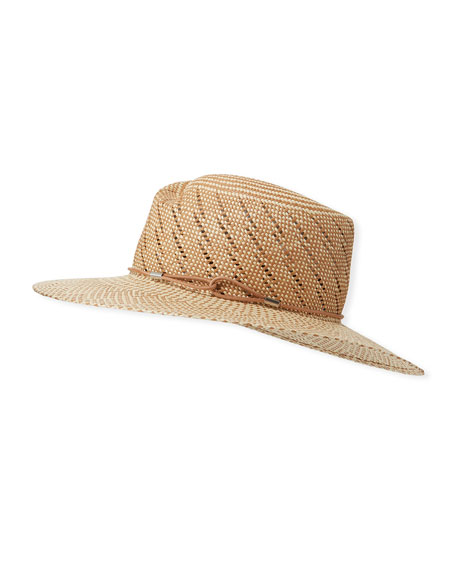 Zoe Two-Tone Straw Hat