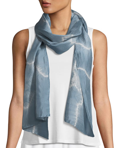 Archipelago Shibori Silk Scarf