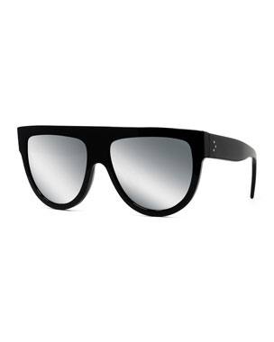 851b94b440 Celine Flattop Gradient Shield Sunglasses