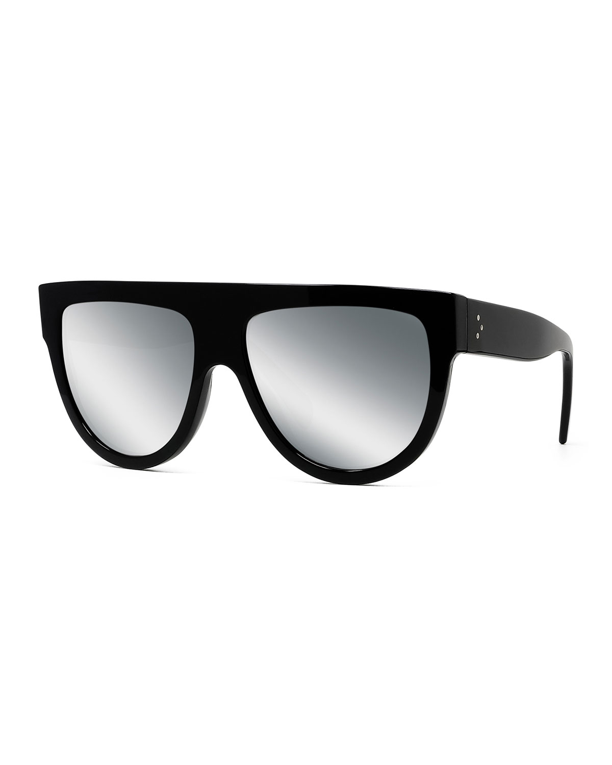 0bde76b6b02 Celine Flattop Gradient Shield Sunglasses