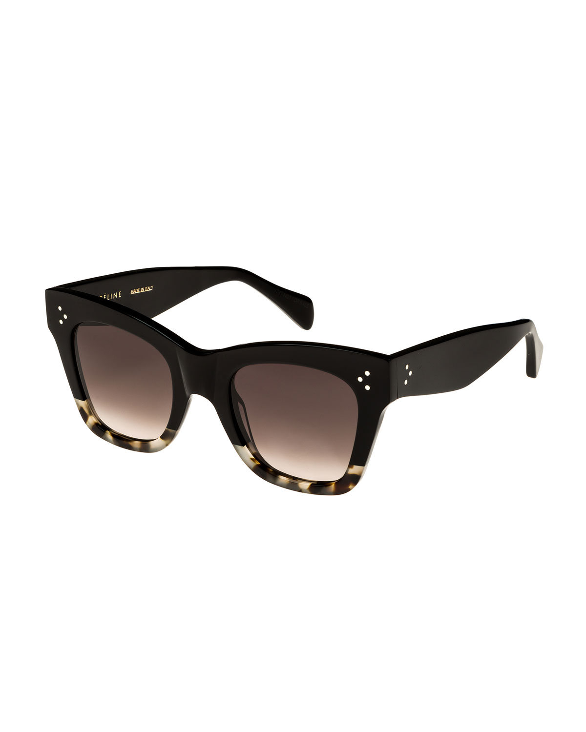f8aafbd6a6 Celine Two-Tone Gradient Cat-Eye Sunglasses