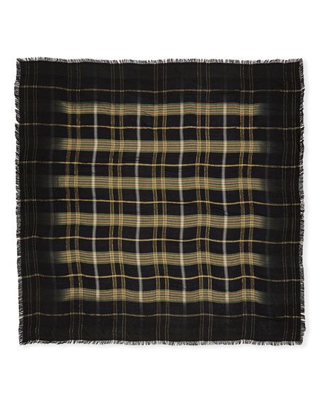 Scotty Mixed Plaid Scarf