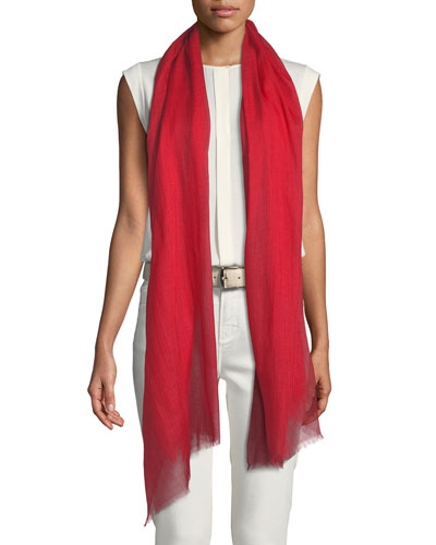 End-on-End Cashmere Scarf