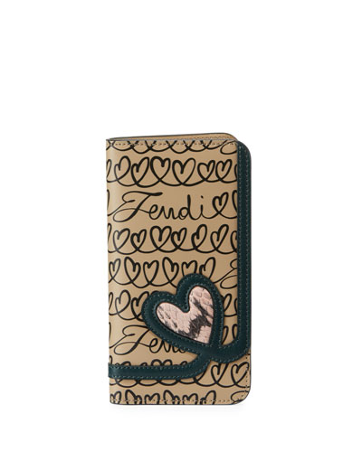 Love Calf Liberty and Snakeskin iPhone X Cover