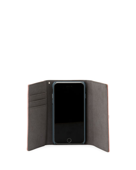 Lovelock Leather Wristlet Phone Bag - iPhone 8/7 Plus