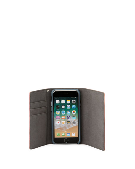 Lovelock Leather Wristlet Phone Bag - iPhone 8/7