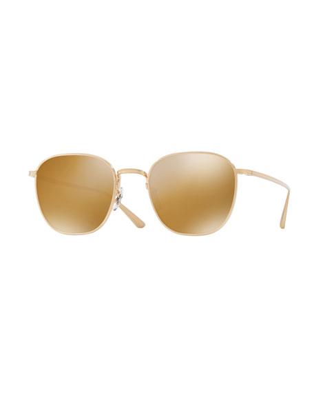 Board Meeting Square Titanium Sunglasses