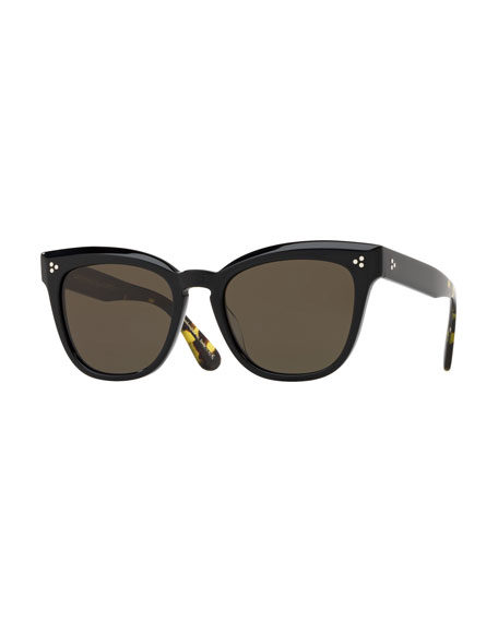 Marianela 54Mm Cat Eye Sunglasses - Black