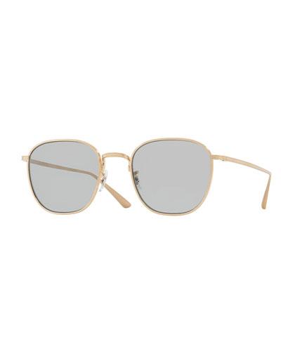 Board Meeting Square Photochromic Titanium Sunglasses