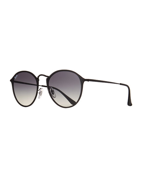 Ray-Ban Blaze Round Gradient Sunglasses