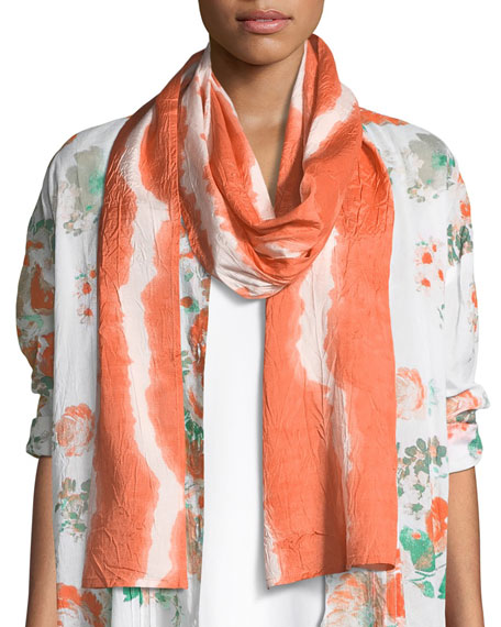 Aong Brush Striped Scarf