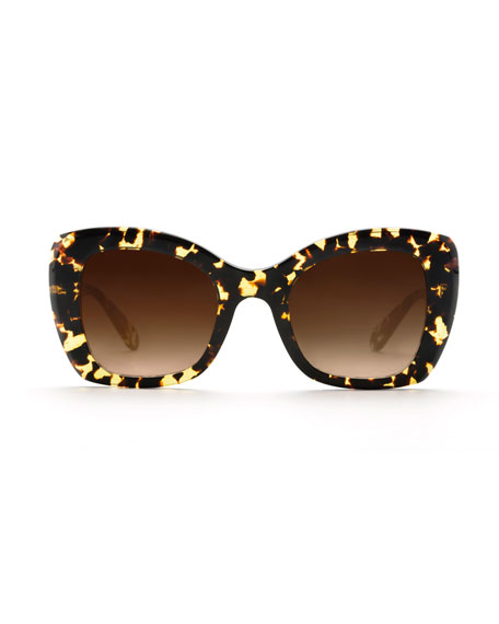 Felicity Acetate Butterfly Sunglasses