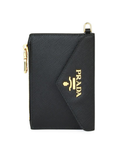 Saffiano Envelope Mini Wallet