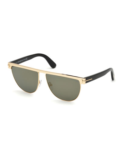 Stephanie Flattop Monochromatic Sunglasses