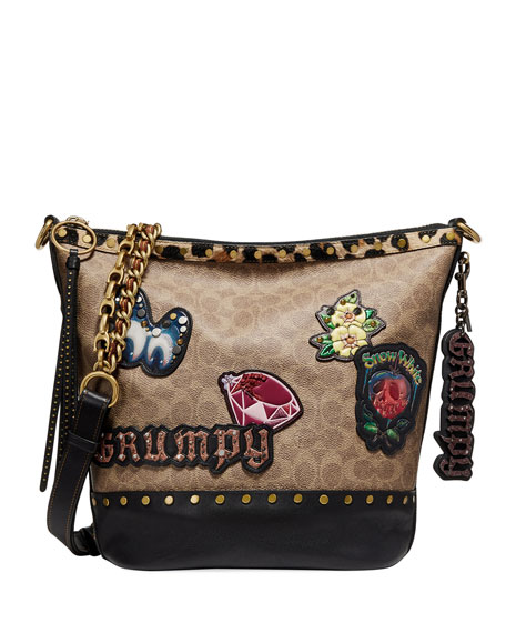DISNEY X COACH Grumpy Bag Charm