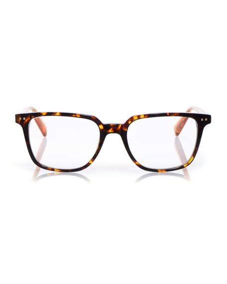C Suite Square Acetate Reading Glasses